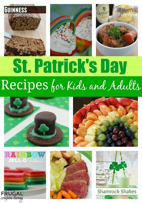 s day snacks st s day food ideas for and adults