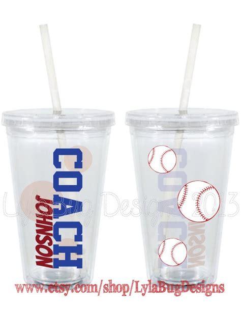 Baseball Cup Topi 3 baseball coach cup appreciation 16oz personalized acrylic tumbler on etsy 15 00