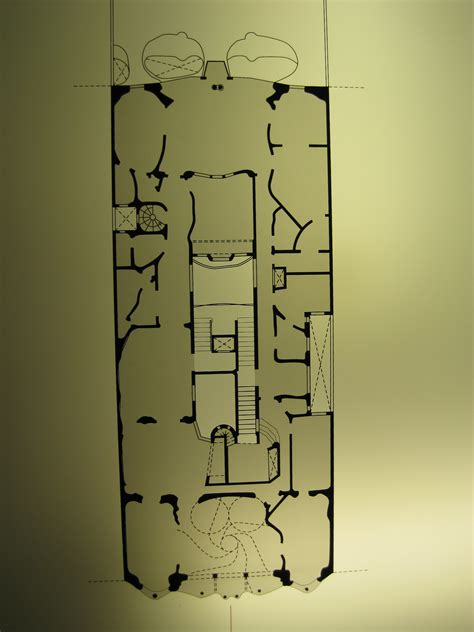 casa batllo floor plan a gaudi day the beginnings from such towering heights
