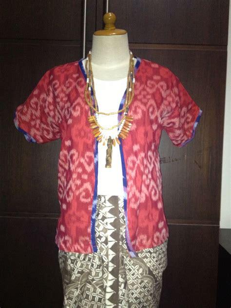 Dress Tenun Blanket Jepara Tenun Ikat Indonesia Tamiku Batik Indonesia