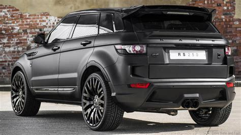 land rover black inside kahn tuning for the range rover evoque rs sport drive
