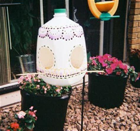 Bird Feeder From Milk milk jug bird feeder thriftyfun