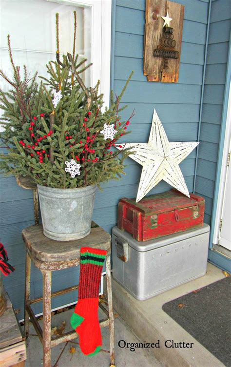 christmas milk can ideas pinterest junkers unite with an outdoor rustic vignette organized clutter
