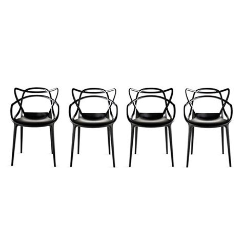 Chaises Masters by Masters Chaise Lot De 4 Kartell Voltex