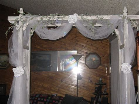 how to decorate with tulle fabric unique interior decorating a wedding arch living room interior designs