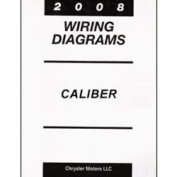 free auto repair manuals 2008 dodge caliber engine control 2008 dodge caliber pm wiring manual