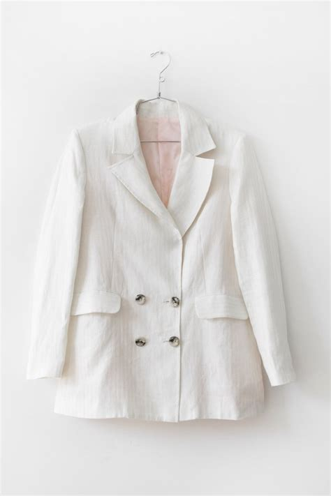 White Gray Monteal Timur Outerwear s outerwear from boutiques garmentory
