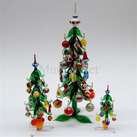 christmas tree with hanging decorations small