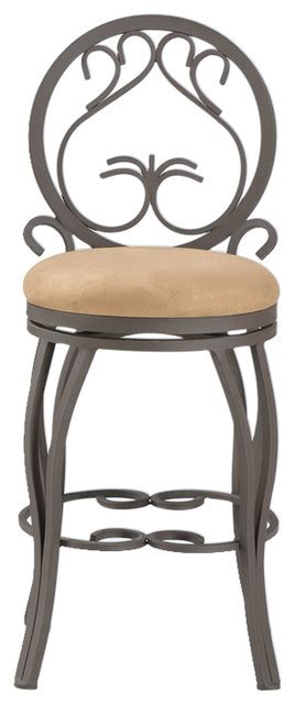 Memory Swivel Counter Stool by 26 Quot Memory Return Swivel Counter Stool Traditional Bar