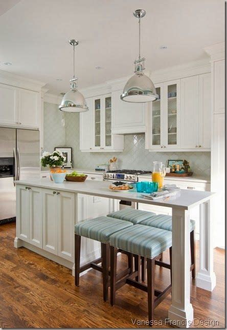 narrow kitchen with island love this narrow but long island kitchens pinterest