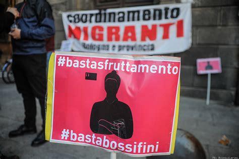 questura piacenza permesso di soggiorno basta razzismo istituzionale migranti in presidio