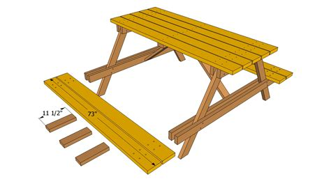 wooden picnic bench plans pdf diy wooden bench and table plans download wooden