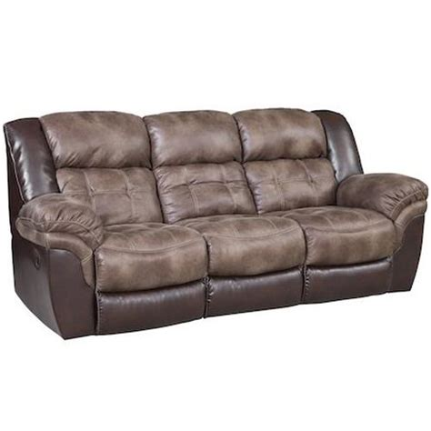 homestretch  casual reclining sofa  pillow top arms royal furniture reclining sofas