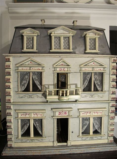 old dolls houses a christian hacker house ca 1880 by susan hale dolls