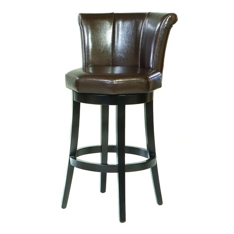 swivel leather bar stools bar stools for sale shop at hayneedle com