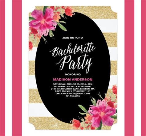 bachelorette invitation template bachelorette invitation template 40 free psd vector