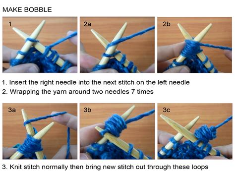 how to knit a bobble scarf with bobbles on garter background knitting unlimited