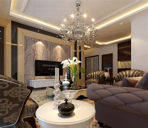 elegant livingroom elegant living room tv wall neoclassical
