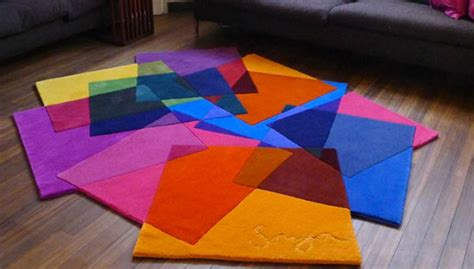 brightly coloured rugs quot transparent rugs quot rug boing boing