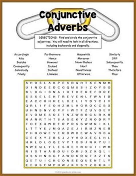 all worksheets 187 conjunctive adverbs worksheets pdf