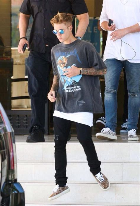 justin bieber outfit preferences tumblr 11 best one direction wearing punk rock t shirts and other