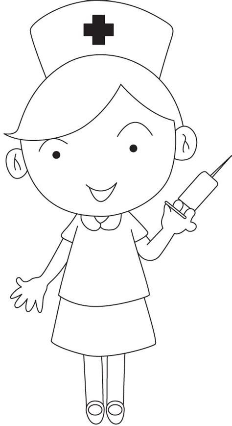 coloring pages for nurses nurse coloring pages getcoloringpages com