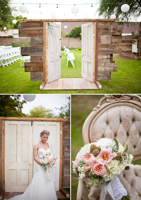 mesa arizona shabby chic wedding