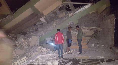 earthquake november 2017 dangerous m7 2 earthquake hits iran iraq border damage in