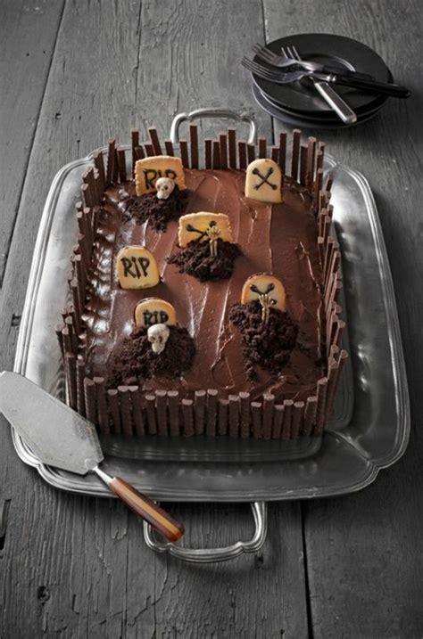helloween kuchen kuchen deko wahnsinnige torten ideen