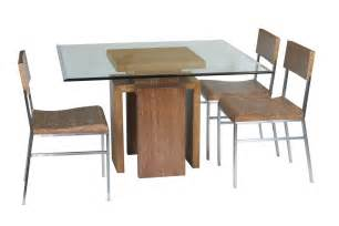 Wooden Base Table L Table Glass Dining With Wooden Base Craft Room