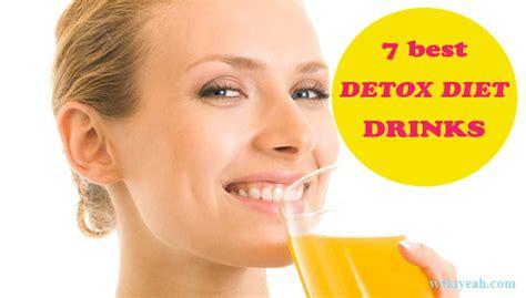 Best Detox Diet Shakes by 7 Best Detox Diet Drinks For Weight Loss That Taste