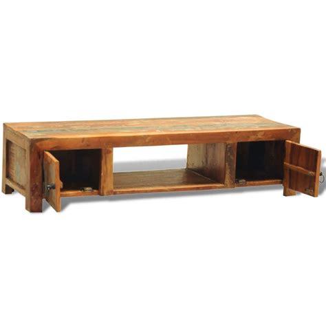 tv meubel hout online tv meubel van hergebruikt hout met twee deuren in antiek