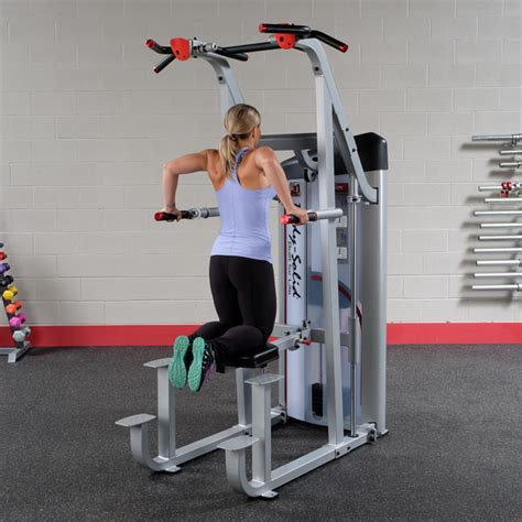 assisted bench press bar weight body solid weight assisted chin dip machine commercial grade