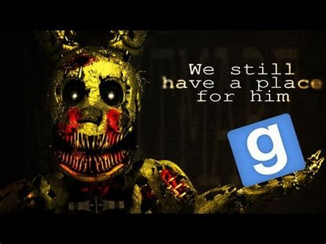 mod garry s mod five nights at freddy s garry s mod five nights at freddy s 4 map