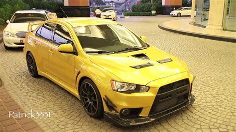 mitsubishi evo 2014 modified mitsubishi lancer evo x rs custom look youtube