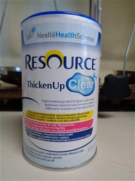 addensante alimentare resource thickenup clear 125g addensante per liquidi 22 68