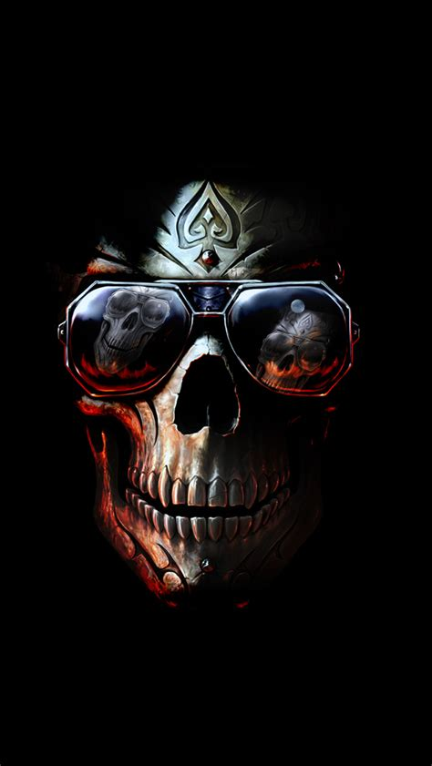Skull Wallpaper Iphone 4 4s 5 5s 5c 6 6s Plus Samsung S6 S7 badboy skull iphone wallpaper hd