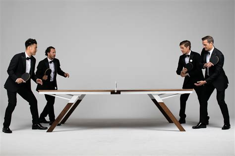 designer ping pong table a ping pong table for design design