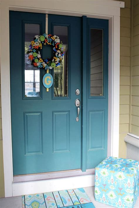 best 25 teal front doors ideas on d bold teal door and style bold