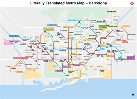 barcelona metro map barcelona metro map literally translated to with brilliant results alan collins p 233 rez