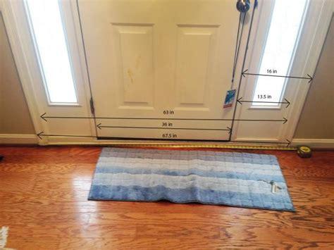 determining size   door  sidelights  order