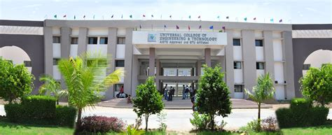 Gtu Mba Colleges by Universal College Of Engineering And Technology