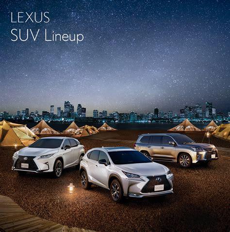 Lexus Suv Lineup by Lexus Gt News Event Gt Lexus Suv Lineup Fair