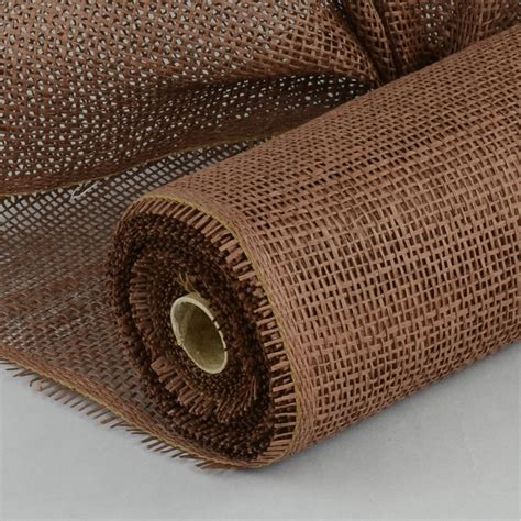 Roll Of Brown Craft Paper - 21 quot paper mesh roll brown 10 yards rr900131