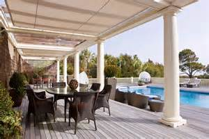 canvas patio covers spaces mediterranean with covered