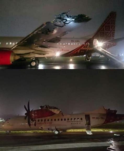 batik air crash www crash aerien aero collision de deux avions de