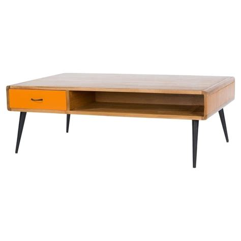 Buy Libra Lightwood Multicoloured Retro Coffee Table At Coffee Tables