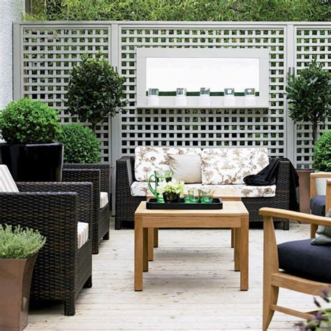 Outdoor Living Room Furniture For Your Patio Small Town Garden Ideas 10 Of The Best Housetohome Co Uk