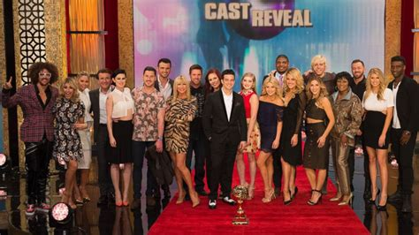 abc dancing with the stars cast and partners 2014 dancing with the stars 2015