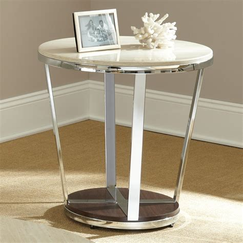 faux marble end table steve silver bosco faux marble end table at hayneedle